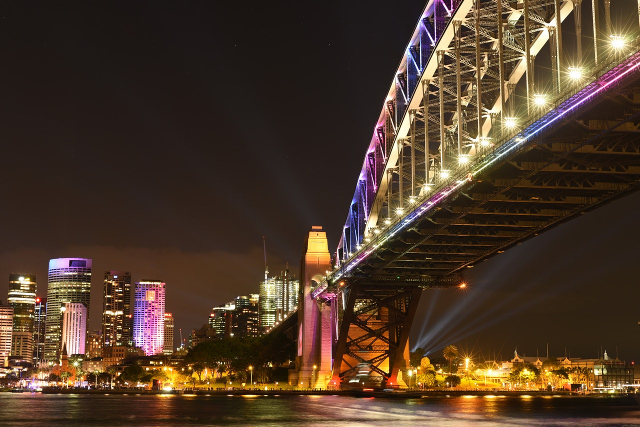 vivid light festival is on june in sydney